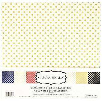 Echo Park Carta Bella Gold Foil 12x12 Inch Collection Kit (CBFG107)