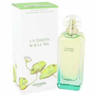 Un Jardin sur Le Nil door Hermes Eau de Toilette Spray 3,4 oz (vrouwen) V728-444015