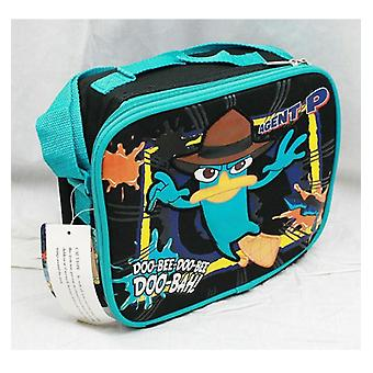 Lunch Bag - Phineas and Ferb - Agent P Doo-Bah! New Case Boys Gifts a01523