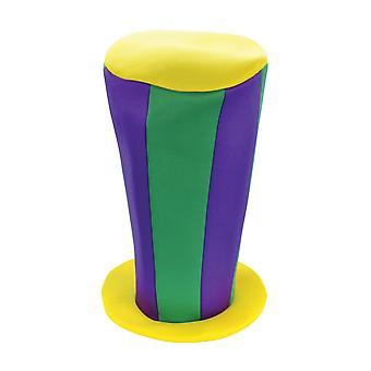 Bristol Novelty Unisex Tall Vertical Striped Top Hat