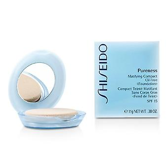 Pureness Matifying Compact Oil Free Foundation Spf15 (case + Refill) - # 40 Natural Beige - 11g/0.38oz