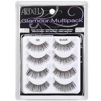 Ardell Multipack 105 Natural Looking Style Easy To Apply Soft Full Eye Lashes