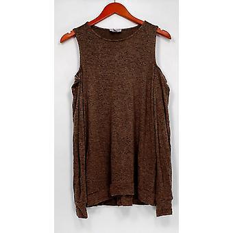 Anybody Women's Sleep shirt Loungewear Cold Shoulder Beige A293071