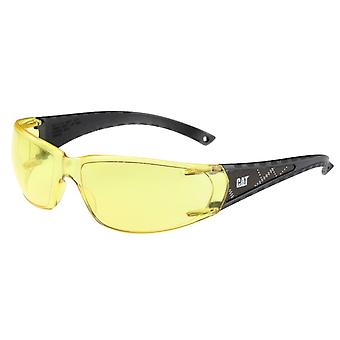 Caterpillar Unisex Blaze Safety Glasses Yellow