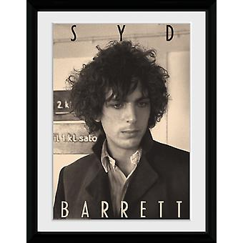 Syd Barrett BW Portrait Collector print 16 x 12 inch of 30.5 x41cm