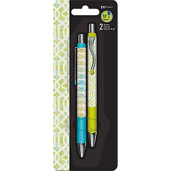 Gel Pen - Patterns Pastel - 2pk New Toys Gifts Papery iw0064