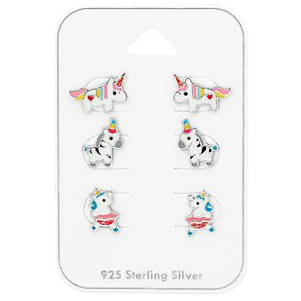 Unicorno - 925 Sterling Silver Set - W38725X