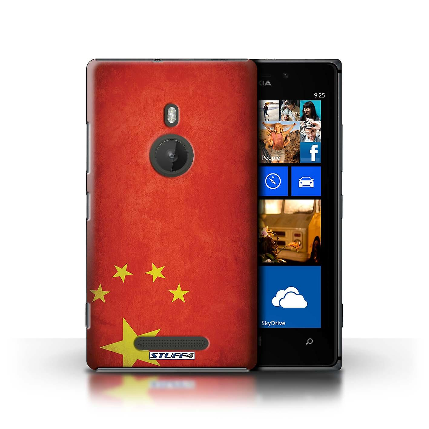 STUFF4 Case/Cover for Nokia Lumia 925/China/Chinese/Flags