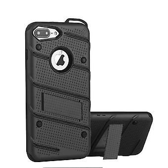 Custodia nera iPhone 6 Plus e 6S Plus - Custodia per armature