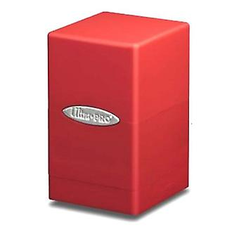 Ultra Pro DECKBOX Satin Tower C6 Card Game-Red