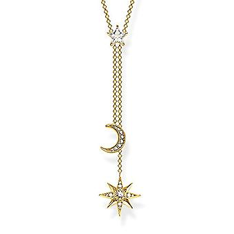 Thomas Sabo Donna Vermeil Necklace with Ke1900-414-14-L45v Pendant