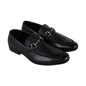 Unlisted by Kenneth Cole Design 303021 Mens Black Dress Loafers Shoes