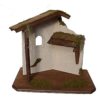 Nativity scene Christmas crib crib crib house LEWIN handmade from Bavaria for figures up to 11 cm