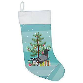 Carolines Treasures  BB9318CS Racing Pigeon Christmas Christmas Stocking