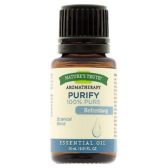 Nature's truth essential oil, purify, 0.51 oz