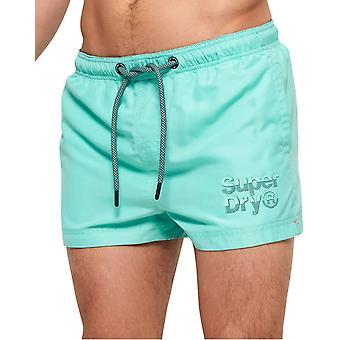 Superdry Sorrento Pastel Swim Shorts Light Blue 97