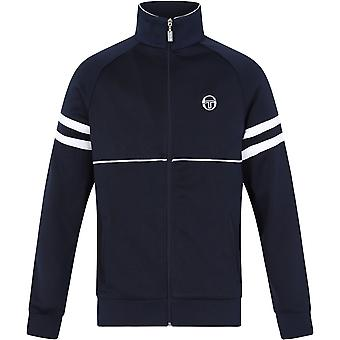 Sergio Tacchini Orion Zip Front Track Top Navy 33