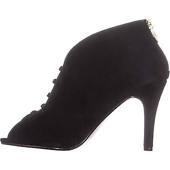 أدريان فيتاديني النساء غاباي الجلود زقزقة إصبع القدم الكاحل أحذية الموضة