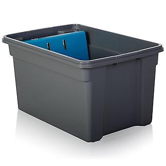 Wham-opberg pakket van 5-50 liter stapel en Opbergdozen van kunststof