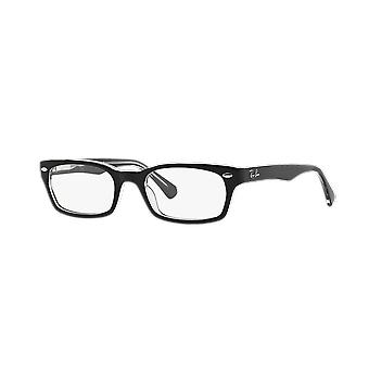 Ray-Ban RB5150 2034 Top Black On Transparent Glasses
