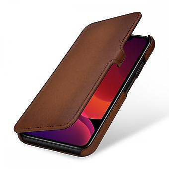 Case For IPhone 11 Book Type Brown In True Leather