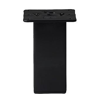 Schwarze Quadrate Möbel Bein 13 cm