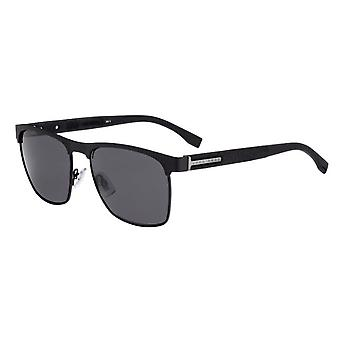 Hugo Boss 0984/S 003/IR Matte Black/Grey Sunglasses