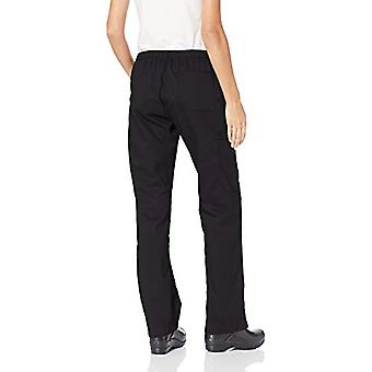WonderWink Women's University of Nebraska Straight Leg Cargo Pant, Nero, X-L...