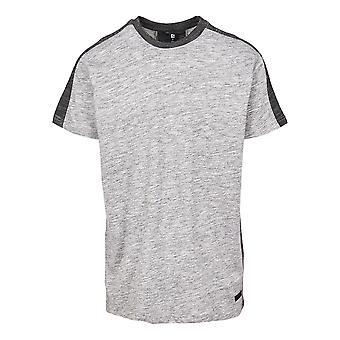 Southpole Men's T-Shirt Shoulder Panel Tech