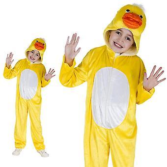 Kuiken kip kip kip gele vogel bos boerderij kinderen kostuum één stuk kuiken kostuum