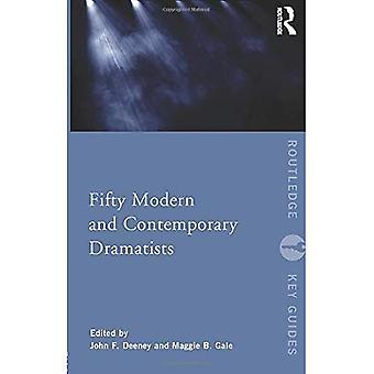 Cinquenta dramaturgos modernos e contemporâneos (Guias-chave de Routledge)