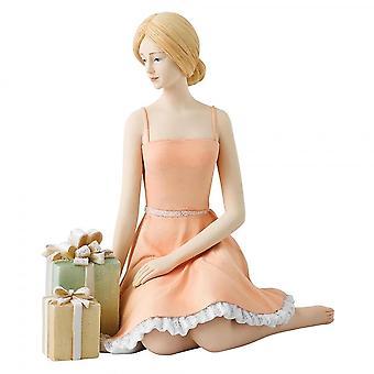 Hallmark Style & Gracie Wishing Resin Figurine