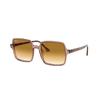 Lunettes de soleil Ray-Ban Square II RB1973 128151 Light Brown/Brown Gradient