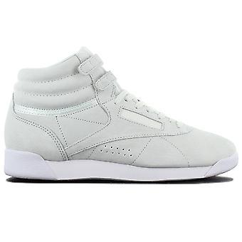 ريبوك Wmns حرة مرحبا NBK أحذية نسائية جلدية أوبال الأخضر CN0604 أحذية رياضية أحذية رياضية