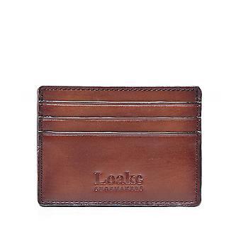 Loake Leather Sterling Card Holder