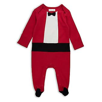 The Essential One Baby Boys Christmas Tuxedo All In One