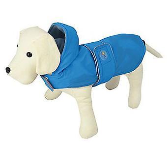 Nayeco Raincoat Dog Dancing Rain Blue 80 cm (Honden , Hondenkleding , Regenjassen)
