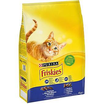 Friskies aikuinen turska ja vihanneksia (kissat, katti elintarvikkeet, kuivata elintarvikkeet)