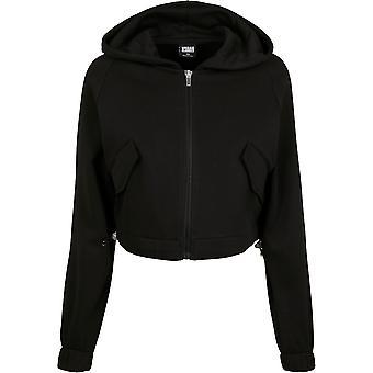 Urban Classics kvinders zip hoodie kort arbejdstager