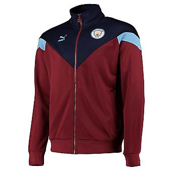 2019-2020 Manchester City Puma Ikoniske MCS Spor Jakke (Cordov