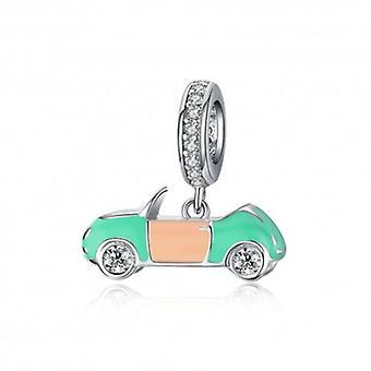 Sterling Silber Charm-anhänger Cabrio Auto - 6433