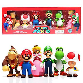 Super Mario Large 6-Pack Collection Large Figures 12cm