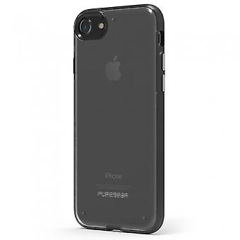 APPLE IPHONE 8/7 PUREGEAR SLIM SHELL CASE - CLEAR/BLACK