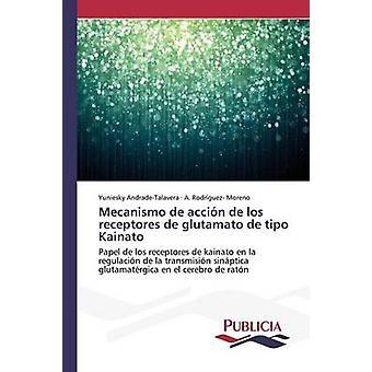 Mecanismo de accin de los receptores de glutamato de tipo Kainato by AndradeTalavera Yuniesky