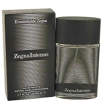 Zegna intenso eau de toilette spray by ermenegildo zegna 463403 50 ml