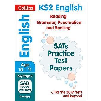 New KS2 SATs English Reading Grammar Punctuation and Spell