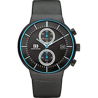 Danish Designs DZ120501-wrist watch, Man, Skin, colour: black