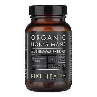 Kiki Health Organic Lion's Mane Mushroom Extract Vegicaps 60