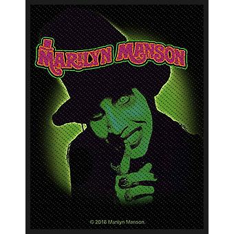 Marilyn Manson Patch Smells Like Children new Official Woven (10cm x 10cm)