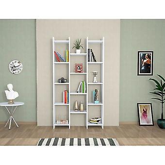 Theo Color White Library i Melaminic Chip, PVC 90x22x164 cm